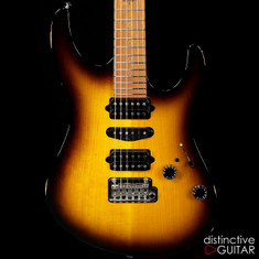 Suhr Modern Antique Guthrie Govan Roasted Recovered Sinker Maple #1 2 Tone Tobacco Burst