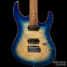 Suhr Custom Modern Angel Quilt Blue Burst JS8A0P