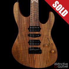 Suhr Custom Modern Distinctive Select #25 Figured Walnut