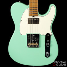 Suhr Classic T Antique Roasted Recovered Sinker Maple #8 Surf Green