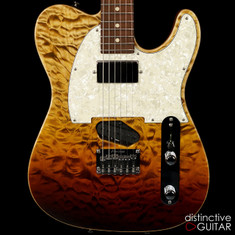Tom Anderson Drop T Classic Tiger Eye Surf Quilt Maple