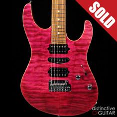 Suhr Modern Custom Magenta Pink Stain 31333