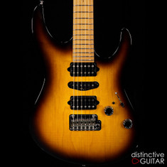 Suhr Modern Antique Guthrie Govan Roasted Recovered Sinker Maple #12 2 Tone Tobacco Burst