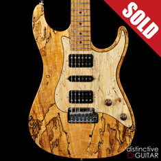 Suhr Custom Standard Spalted Maple Natural Gloss JS2H1J
