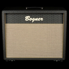 Bogner 2x12 Closed Back Cabinet Celestion Vintage 30 Black