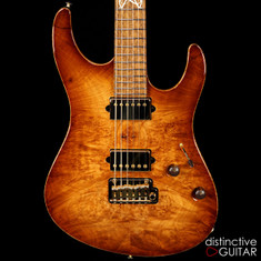 Suhr Custom Modern Carve Top Distinctive Select #24 Natural Burst