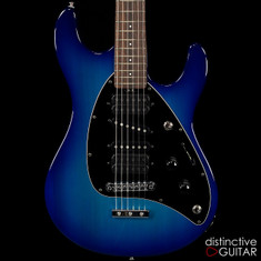 Ernie Ball Music Man Steve Morse Blue Burst