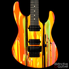 Suhr Modern 80s Shred Neon Drip Limited Run JST4A8L