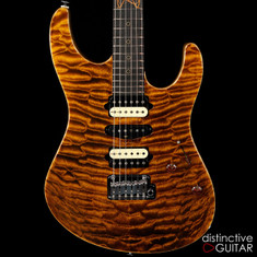 Suhr Custom Modern Distinctive Select Quilt Maple Black Gold JS4Q8H