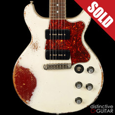 Rock N Roll Relics Thunders Doublecut Aged White/Candy Apple Red