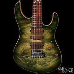 Suhr Modern Custom Distinctive Select #14 Faded Trans Green Burst