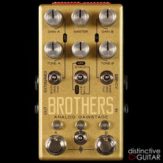 Chase Bliss Audio Brothers Overdrive/Fuzz/Boost