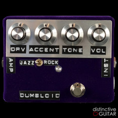 Shin's Music Dumbloid Special Overdrive Pedal Purple Velvet