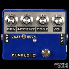 Shin's Music Dumbloid Special Overdrive Pedal Blue Velvet
