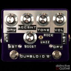 Shin's Music Dumbloid Special Boost Overdrive Pedal Purple Velvet