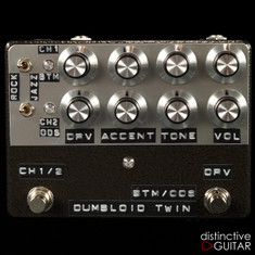 Shin's Music Dumbloid Twin BTM / Overdrive Special Black Hammer