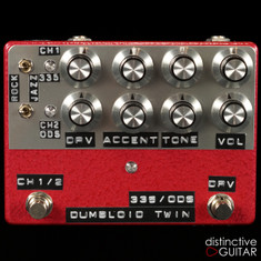 Shin's Music Dumbloid Twin 335 / Overdrive Special Red Hammer