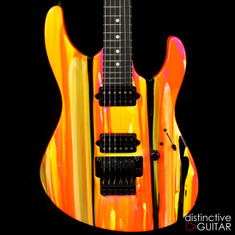 Suhr Modern 80s Shred Neon Drip Limited Run JST4N1V