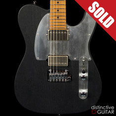 Suhr Modern T Andy Wood Signature Series Black Torched Satin JF5H5F