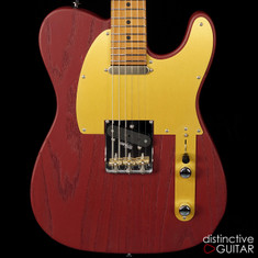 Suhr Modern T Andy Wood Signature Series Red Torched Satin JS6D4R