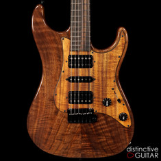 Suhr Standard Custom Figured Walnut Natural JS2K8M