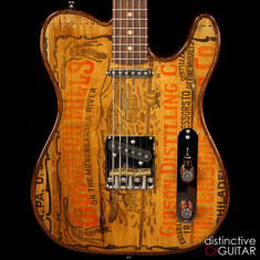 Walla Walla Maverick Pro Vintage Wood Gibson Whiskey
