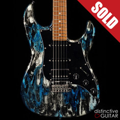 James Tyler Studio Elite HD-P Black And Blue Shmear