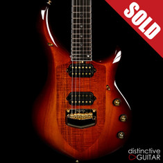 Ernie Ball Music Man Majesty John Petrucci Signature Limited Koa Island Burst BFR