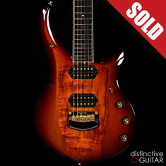 Ernie Ball Music Man Majesty John Petrucci Signature Limited Koa Island Burst BFR #23