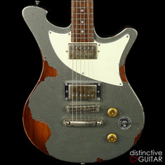 Wild Custom WildOne Charcoal Frost Over Sunburst NAMM Showpiece
