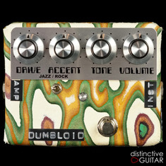 Shin's Music Dumbloid Special Overdrive Pedal Sukimo Leather Green Grain #1219
