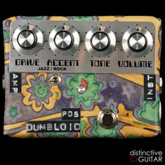 Shin's Music Dumbloid Overdrive Special Psychedelic Sukimo Leather Blue Flower #1223