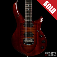 Ernie Ball Music Man Majesty John Petrucci Signature Limited Sahara Burst BFR #15