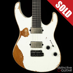 Suhr Modern Antique Custom Extra Heavy Aging Olympic White JS1E6J