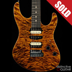 Suhr Modern Custom Black Gold Quilt Top JS4G7F