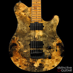 Ernie Ball Music Man Axis Super Sport BFR #58-Buckeye Burl