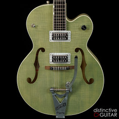 Gretsch G6120 Brian Setzer Hot Rod - Highland Green Two Tone