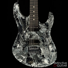Suhr Modern Custom Black and White Twisted Drip JS6D9Q