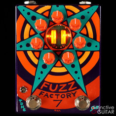 Zvex Fuzz Factory 7 Limited Custom Hand Painted E054
