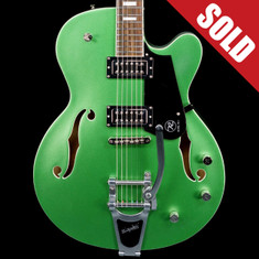 Reverend Pete Anderson Sig. PA-1 RT Satin Metallic Emerald