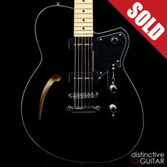 Reverend Stu D. Baker Sig. Semi-Hollow Black