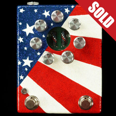 Zvex Hand Painted Fuzz Factory 7 Custom Stars & Stripes