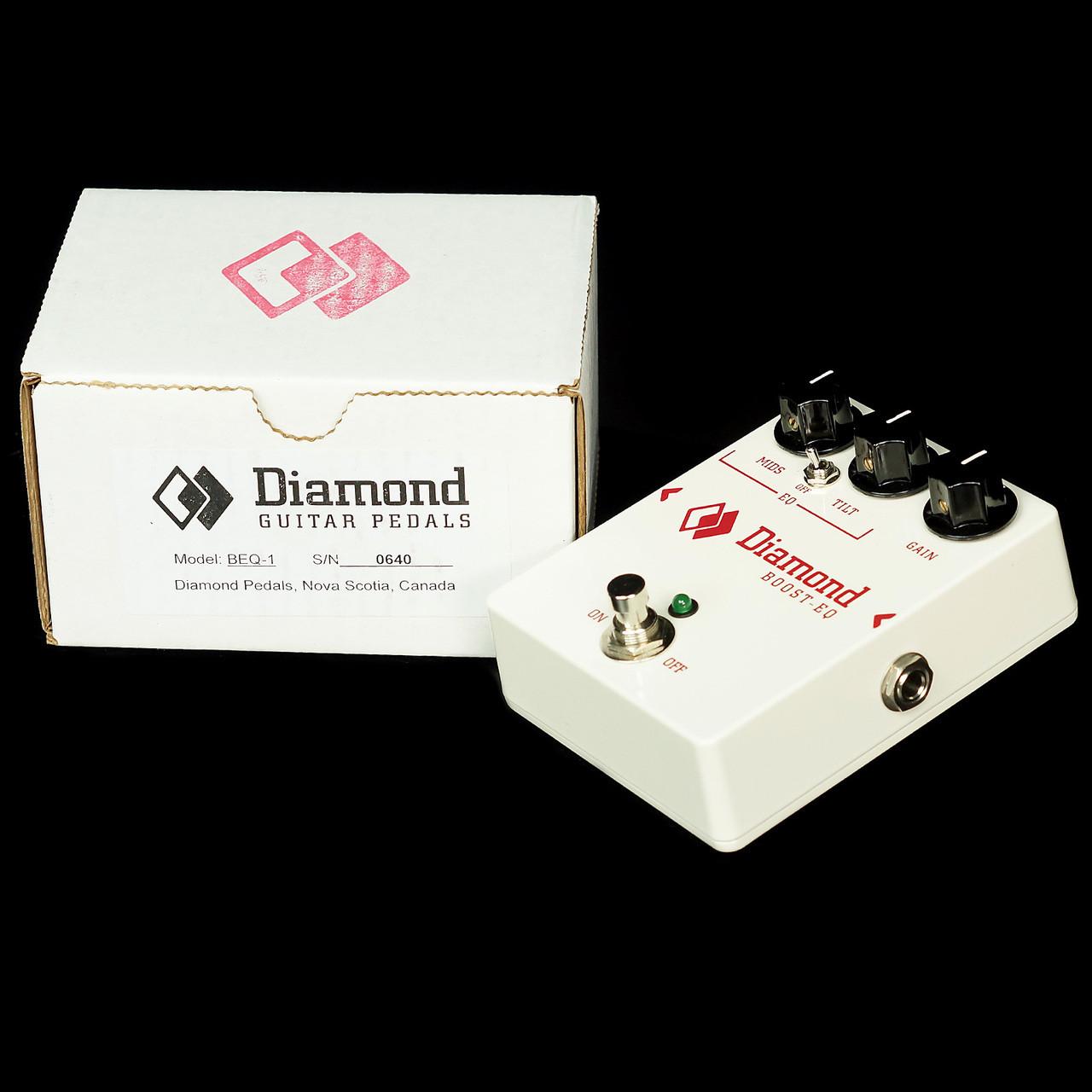 Diamond Boost-EQ Equalizer BEQ 6