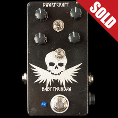 Dwarfcraft Baby Thunda Fuzz Custom Etched
