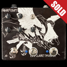 Dwarfcraft Eau Claire Thunder Fuzz Custom Etched