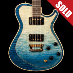 Knaggs T2 Double Purfling Kenai Faded Blue