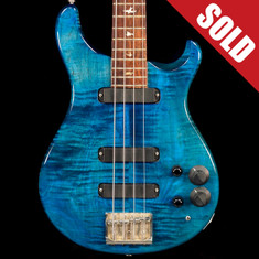 1988 Paul Reed Smith 4 String Bass Whale Blue
