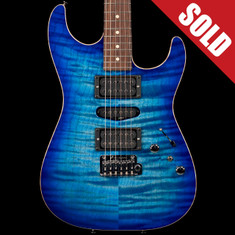 Tom Anderson Drop Top Jack's Pacific Blue Burst