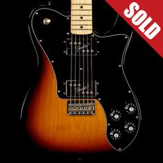 2012 Fender MIM 72 Reissue Deluxe Telecaster 3 Tone Sunburst