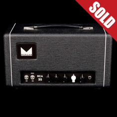 Morgan RCA35 Tube Head Black